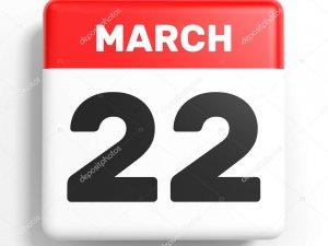 22 Mart 2019 Tarihte bugün neler oldu?