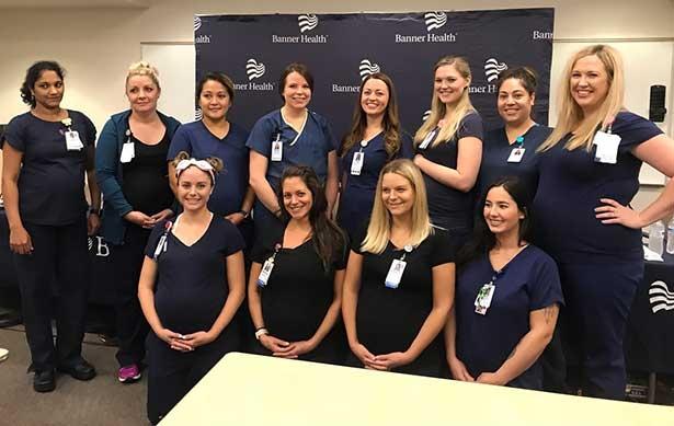 Aynı hastanede 9 Hemşire birden hamile ! galerisi resim 10