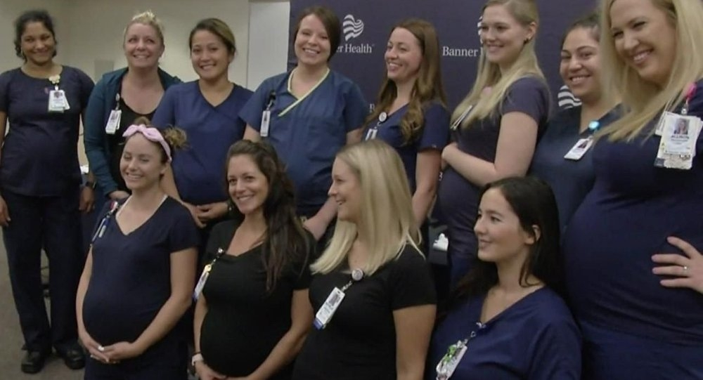 Aynı hastanede 9 Hemşire birden hamile ! galerisi resim 8