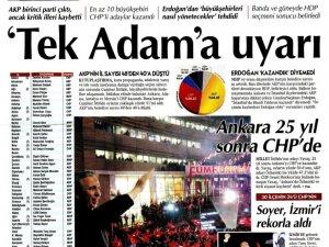 Türkiye'deki gazeteler yerel seçimleri böyle gördü