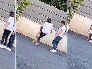 Sosyal medya manyaklığı:Vicdansız anne istediği pozu vermeyen kızını tek
