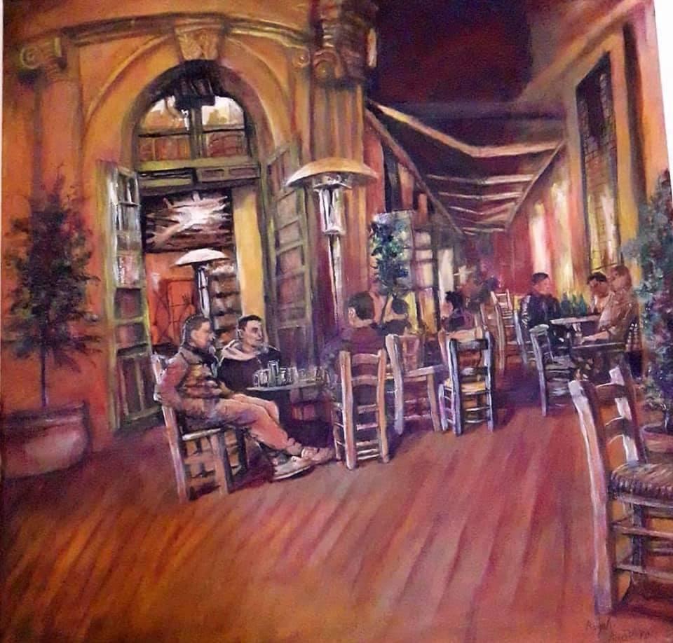 Lefkoşa'daki kanser hastalarının yaptığı çizimler galerisi resim 1