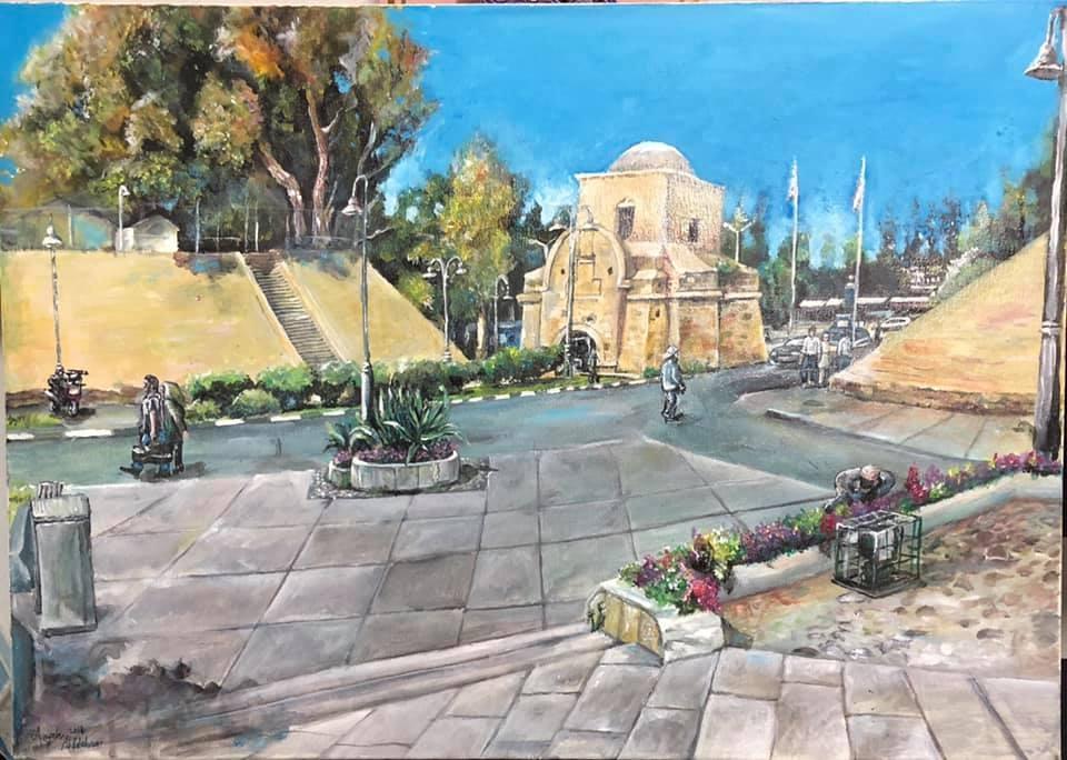 Lefkoşa'daki kanser hastalarının yaptığı çizimler galerisi resim 4