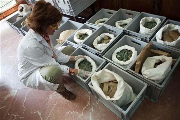 İşçiler su borularının bakımını yaparken buldu: değeri paha biçilemez galerisi resim 3