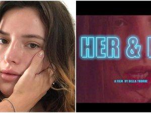 Amerikalı oyuncu Bella Thorne'un İlk porno filmi: Her & Him