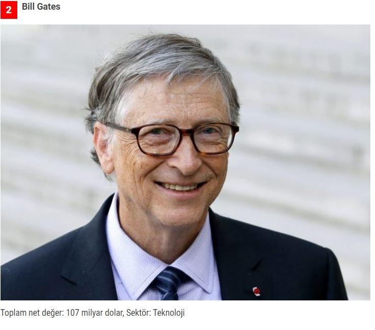 Dünyanın en zenginleri listesi belli oldu! Zirvedeki isim yine değişmedi galerisi resim 2