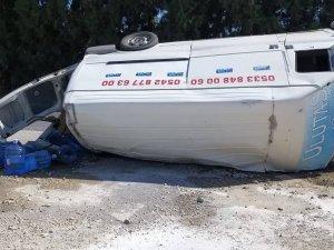 Hapolat'ta büyük kaza: 2 yaralı