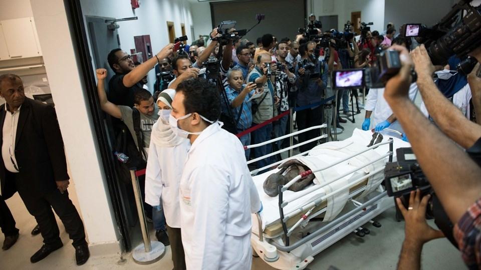 Mısır'da 2 mumyanın lahiti açıldı (Fotogaleri) galerisi resim 1