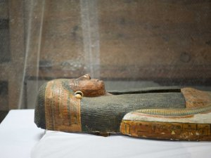Mısır'da 2 mumyanın lahiti açıldı (Fotogaleri)