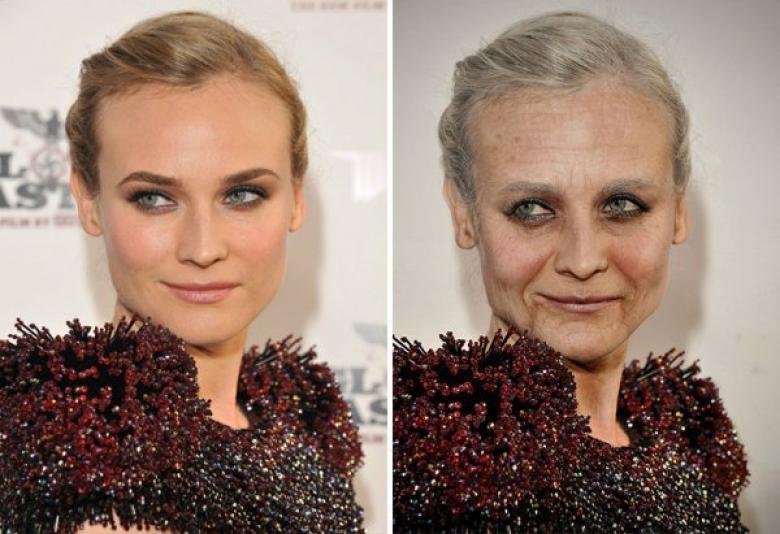 Ünlüler yaşlanınca nasıl gözükür? galerisi resim 4
