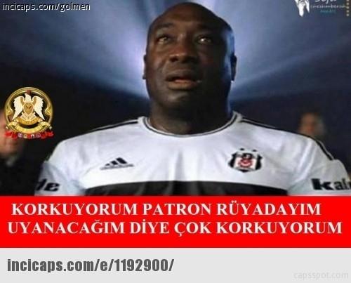 İşte Beşiktaş - Galatasaray maçı sonrası capslar galerisi resim 1