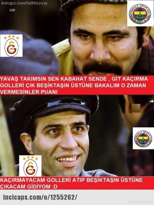 İşte Beşiktaş - Galatasaray maçı sonrası capslar galerisi resim 18