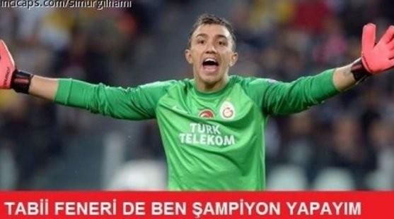 İşte Beşiktaş - Galatasaray maçı sonrası capslar galerisi resim 2