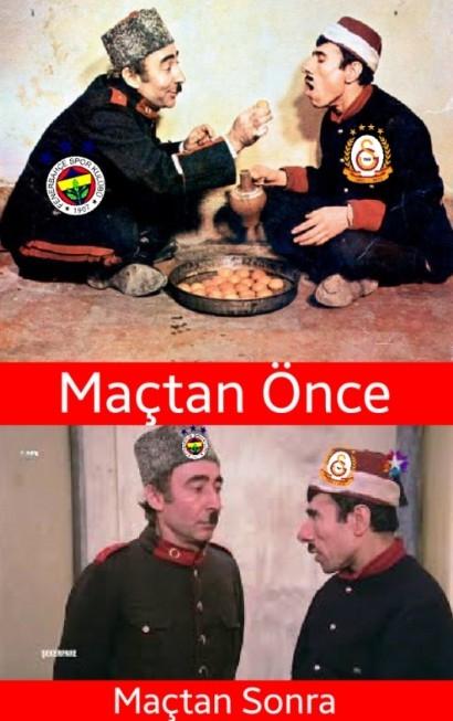 İşte Beşiktaş - Galatasaray maçı sonrası capslar galerisi resim 6