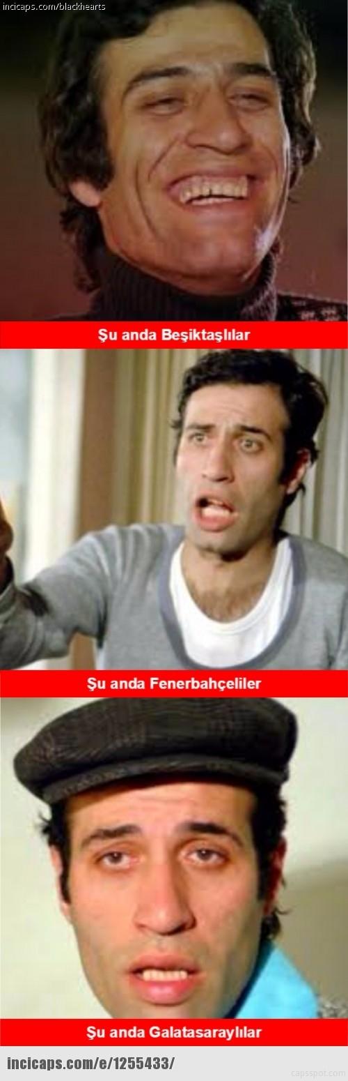 İşte Beşiktaş - Galatasaray maçı sonrası capslar galerisi resim 7
