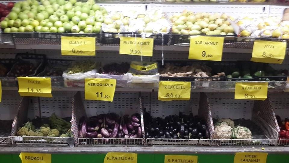 Sebze ve meyve fiyatları cep yakıyor !.. galerisi resim 1