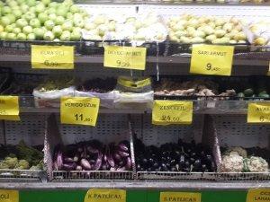 Sebze ve meyve fiyatları cep yakıyor !..