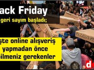 Black Friday ; işte online alışveriş yapmadan önce bilmeniz gerekenler