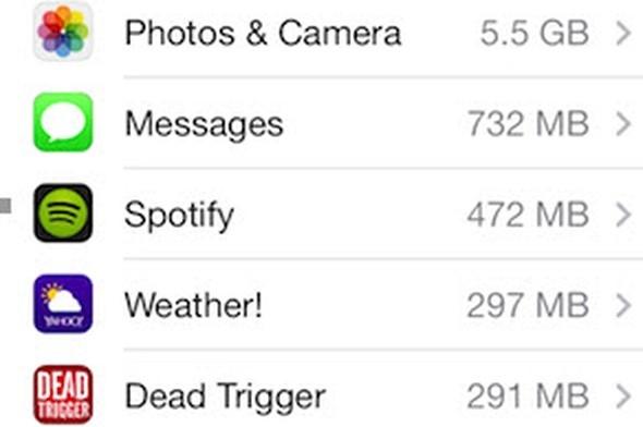 iPhone'ları hızlandırmanın yolları galerisi resim 7