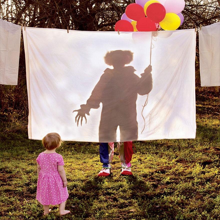 Çılgın fotoğrafçıdan kızları ile korku filmlerini aratmayacak çekimler galerisi resim 5