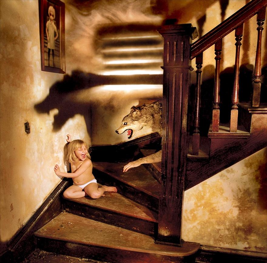 Çılgın fotoğrafçıdan kızları ile korku filmlerini aratmayacak çekimler galerisi resim 7