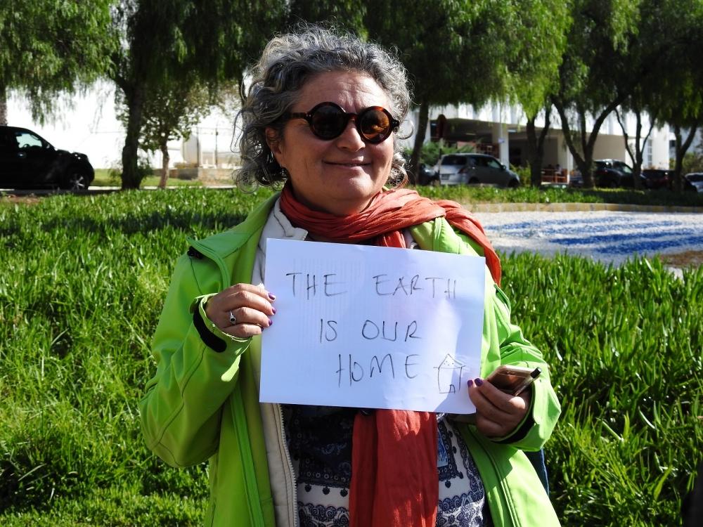 DAÜ'den küresel iklim değişikliğine karşı farkındalık eylemi galerisi resim 1