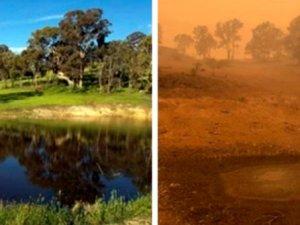 Fotoğraflarla Avustralya yangınlaın öncesi ve sonrası