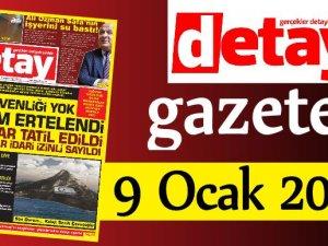 Detay Gazetes 9 Ocak 2020