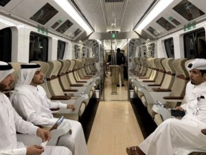 Katar metrosu: Metroları bile otel konforluğunda!