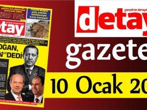 Detay Gazetes 10 Ocak 2020