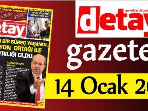 Detay Gazetes 14 Ocak 2020