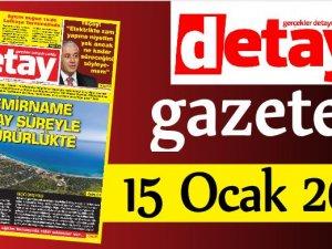 Detay Gazetes 15 Ocak 2020