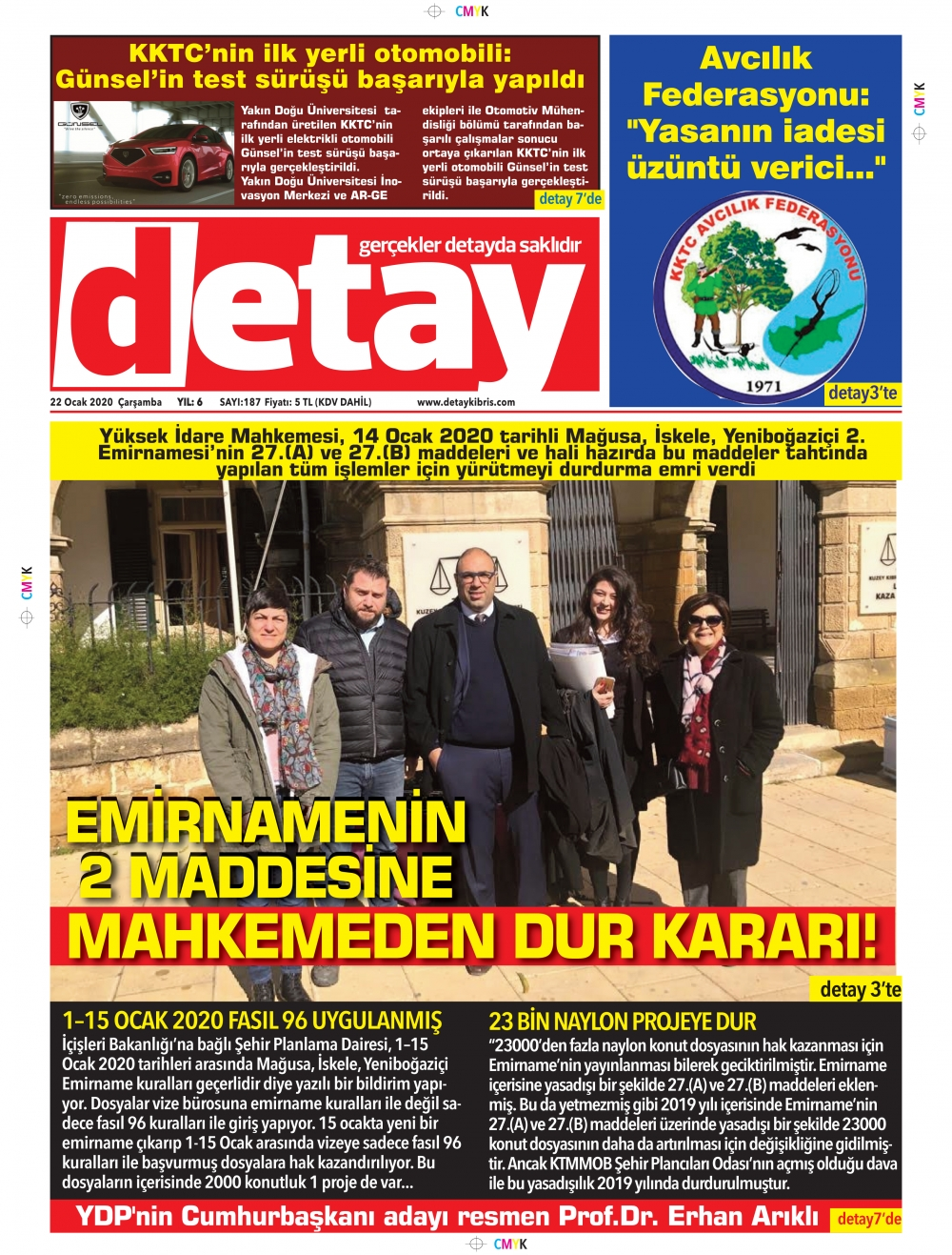 Detay Gazetes 22 Ocak 2020 galerisi resim 1