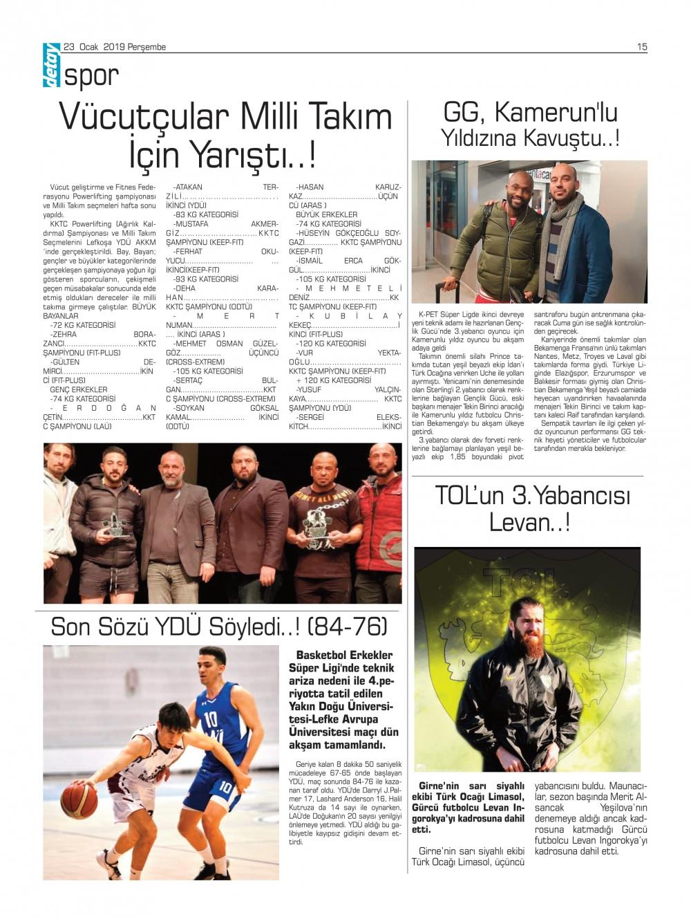 Detay Gazetes 23 Ocak 2020 galerisi resim 10