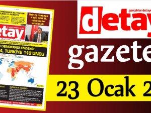 Detay Gazetes 23 Ocak 2020