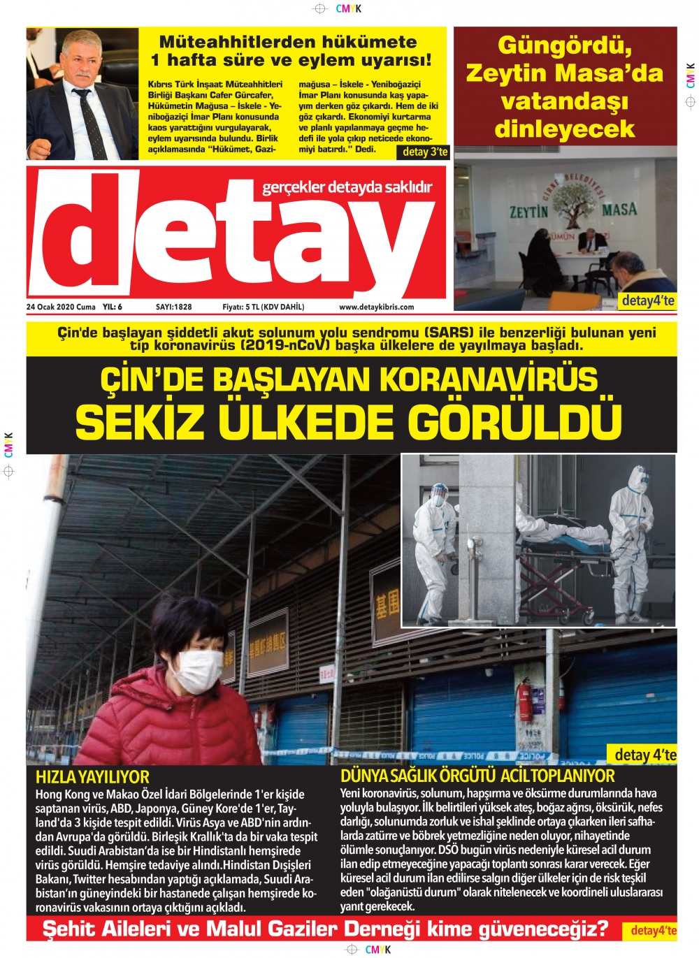Detay Gazetes 24 Ocak 2020 galerisi resim 1