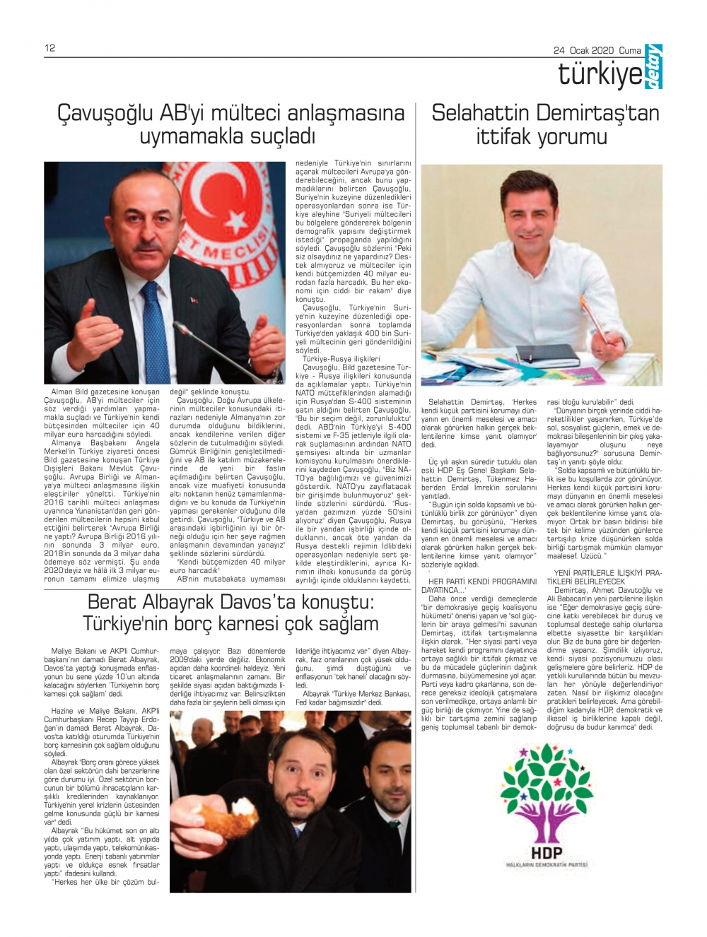 Detay Gazetes 24 Ocak 2020 galerisi resim 12