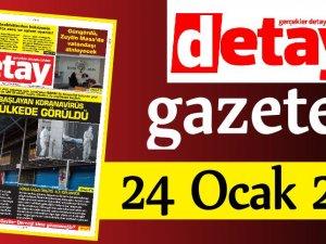 Detay Gazetes 24 Ocak 2020