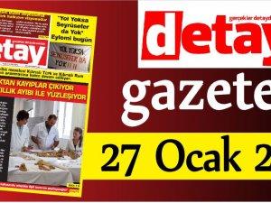 Detay Gazetes 27 Ocak 2020