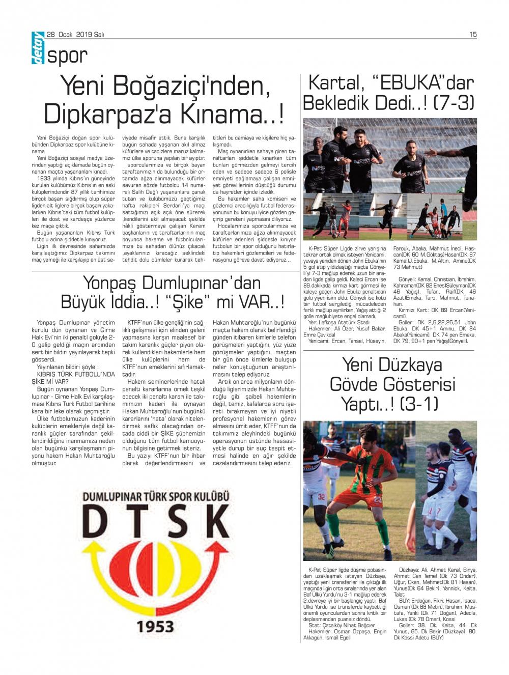 Detay Gazetes 22 Ocak 2020'da ne yazdı? galerisi resim 13