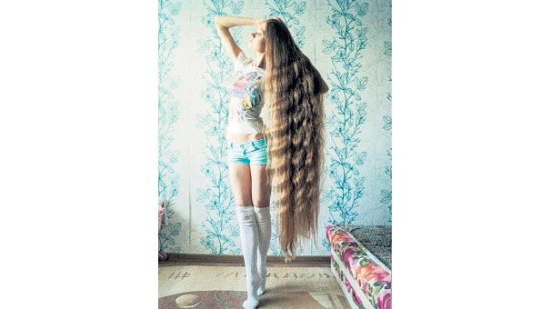 İşte Rus Rapunzel! galerisi resim 1