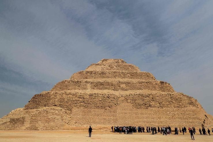 Mısır'ın en eski piramidinin içinden görüntüler galerisi resim 3