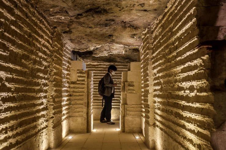 Mısır'ın en eski piramidinin içinden görüntüler galerisi resim 4