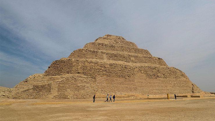 Mısır'ın en eski piramidinin içinden görüntüler galerisi resim 5