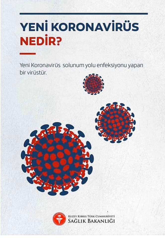 KKTC Sağlık Bakanlığından Koronavirüs Kılavuzu galerisi resim 1
