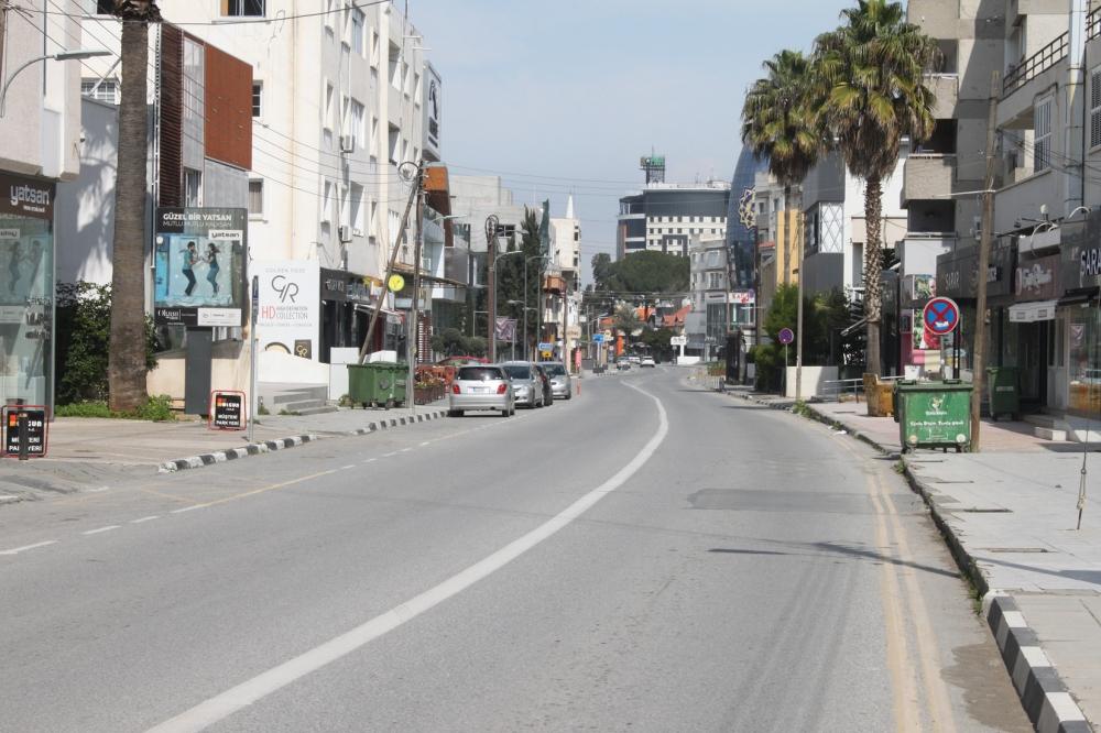 Lefkoşa ''Hayalet şehir'' oldu galerisi resim 4