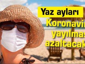 Yaz ayları Koronavirüs'ün yayılmasını azaltacak mı?