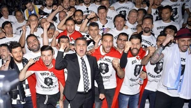 Şampiyon Beşiktaş kupasına kavuştu galerisi resim 1