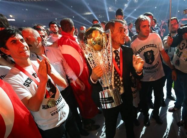 Şampiyon Beşiktaş kupasına kavuştu galerisi resim 11