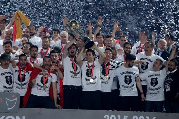 Şampiyon Beşiktaş kupasına kavuştu galerisi resim 32